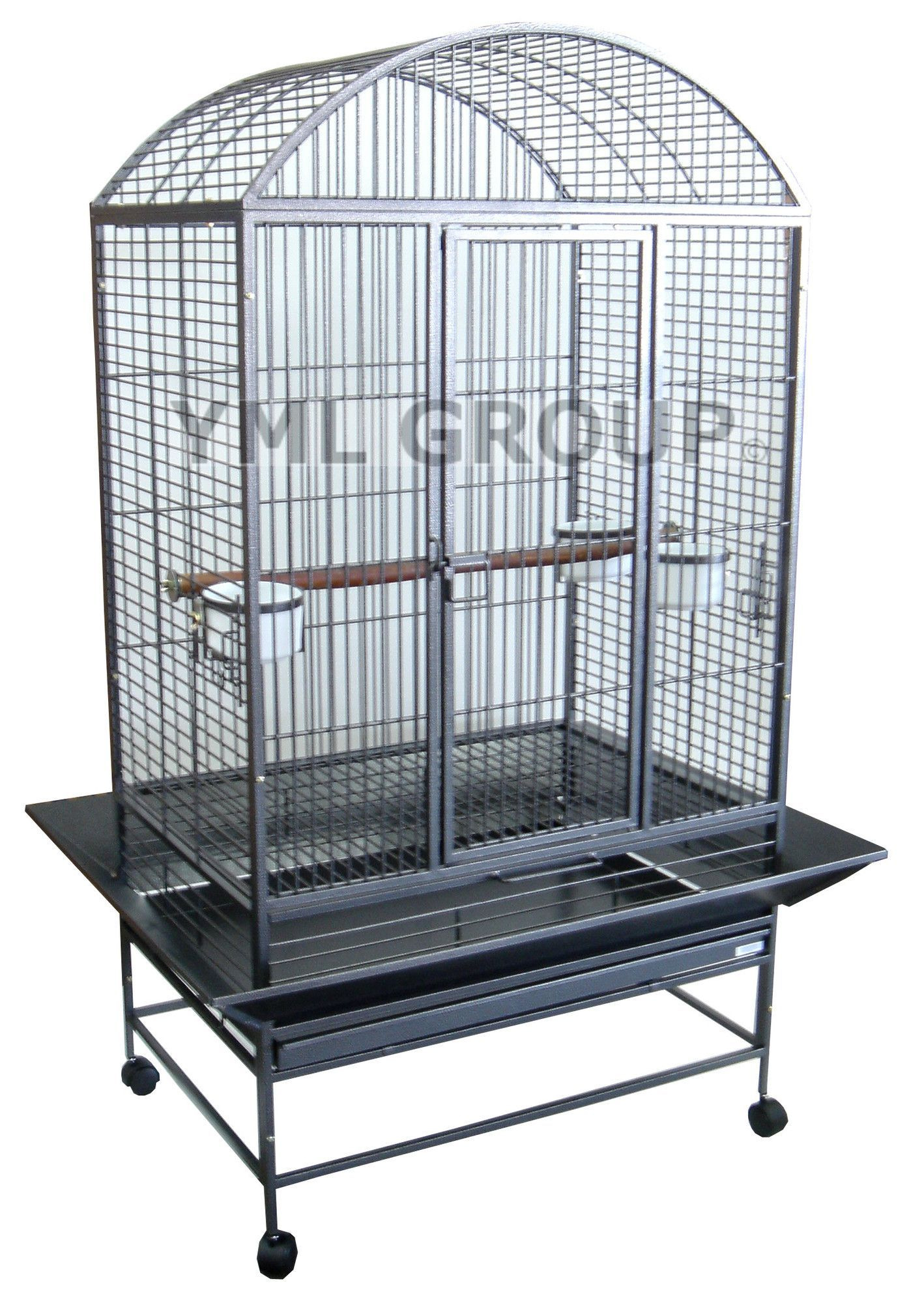 Wide Dome Top Parrot Bird Cage