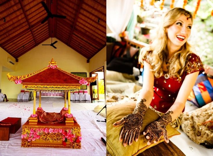 Henna Bali: Henna Tattoo Destination Wedding: Bali