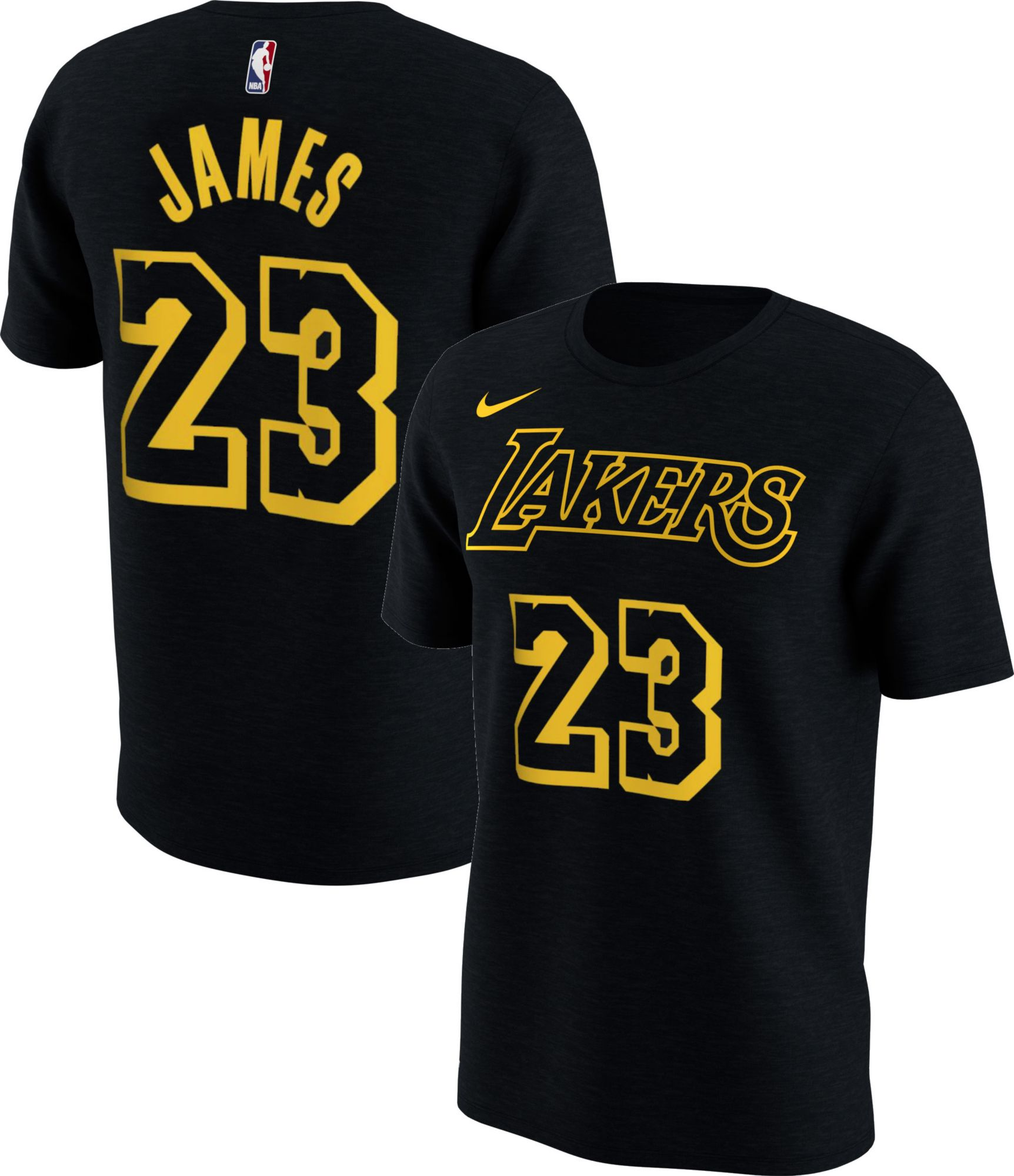 check out a3d04 e81bf Nike Youth Los Angeles Lakers LeBron James Dri-FIT City ...