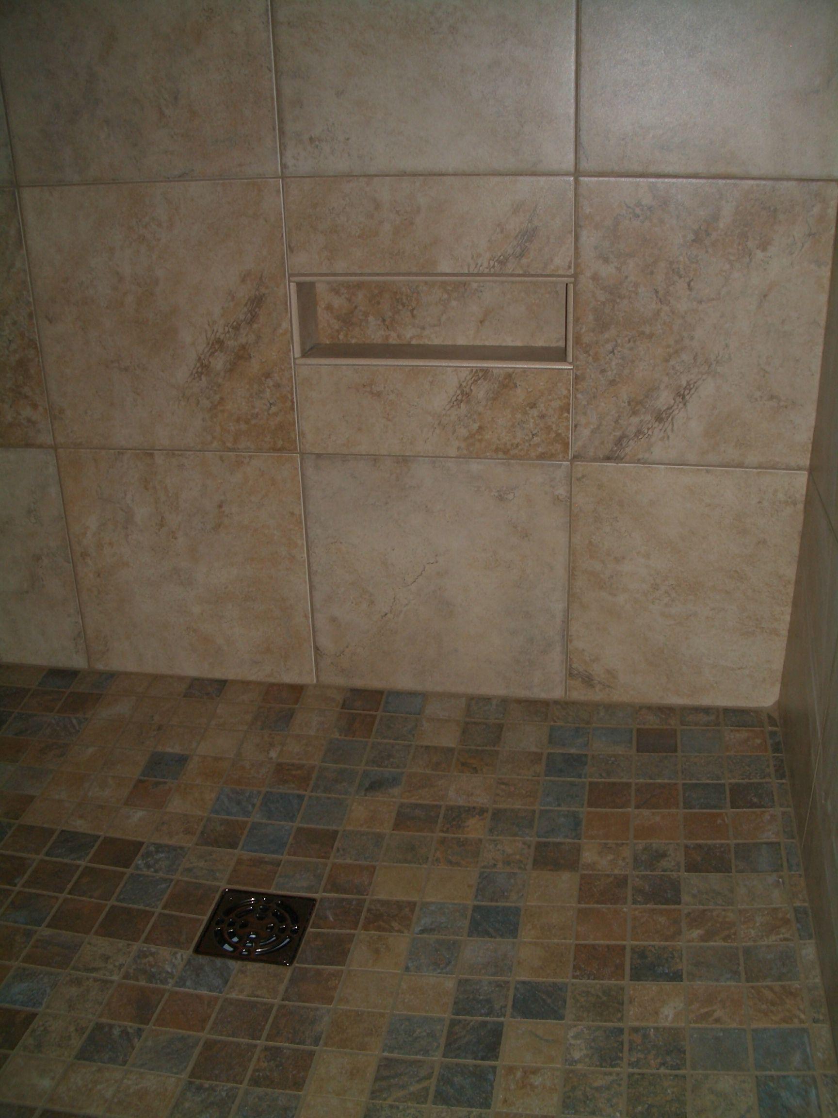 Shower Upgrade Options With Images Shower Tile Bathroom Niche