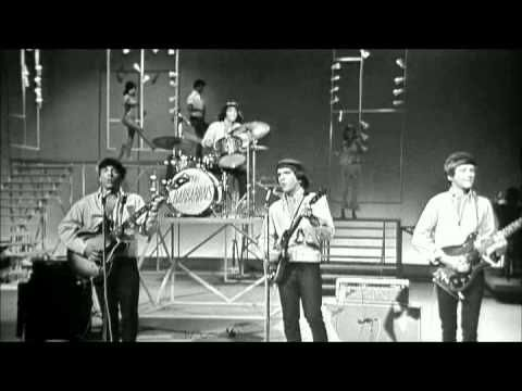 This is the most inspiring thing I've ever seen. The drummer in this 1965 band on the TAMI show only has one hand. Towards the end, they show that he's holding the other drumstick with a prosthetic hook.