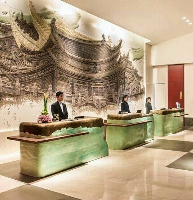 Pullman Kaifeng Receptions In 2019 Hotel Lobby Design