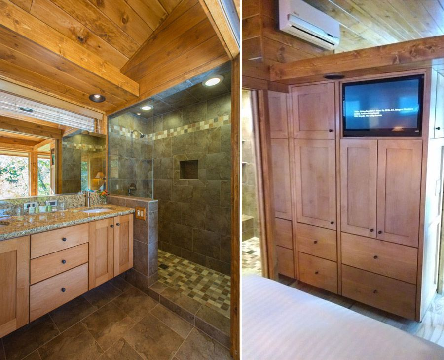 TV in Cabinets