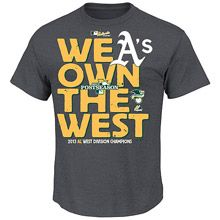 We Own the West - Oakland A's are the 2013 AL West Champions