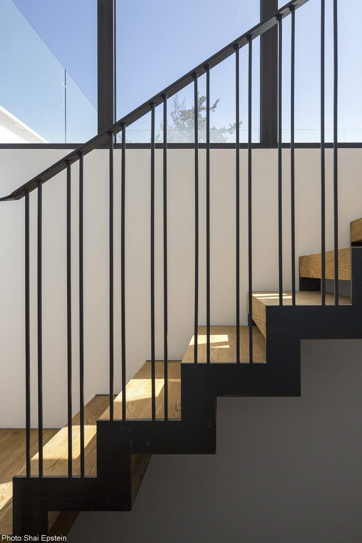 200sqm House, Ramat-Hasharon - Fineshmaker #staircaserailings