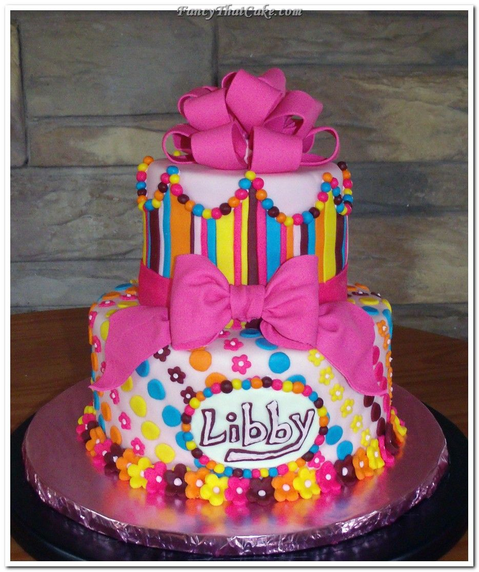 Best 25+ Girl Birthday Cakes Ideas On Pinterest