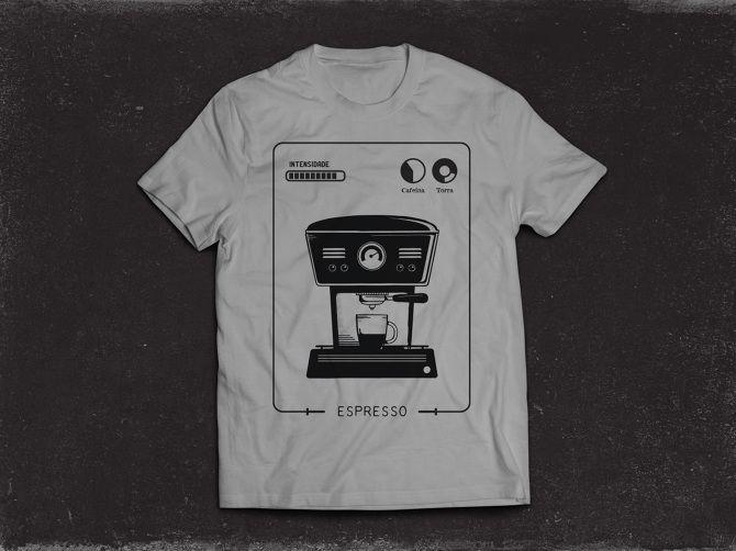 Fazedores de Café - camiseta espresso