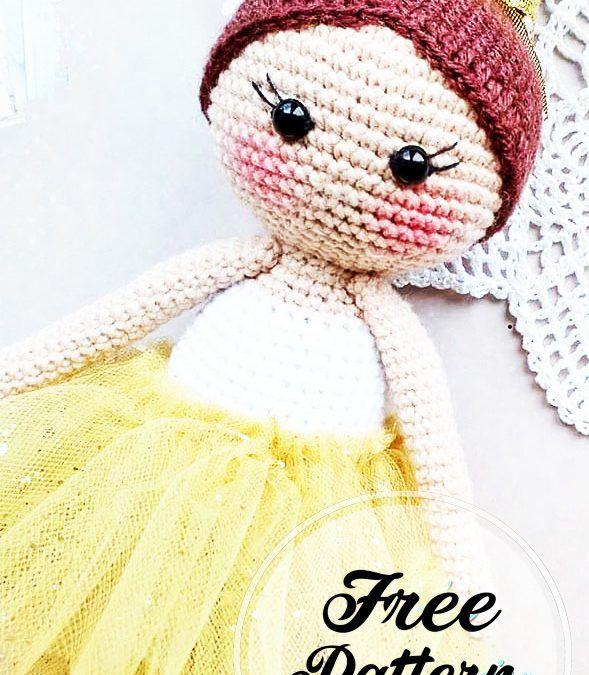 Sleepy Doll Amigurumi Free Crochet Pattern in 2020   Crochet toys ...   675x589