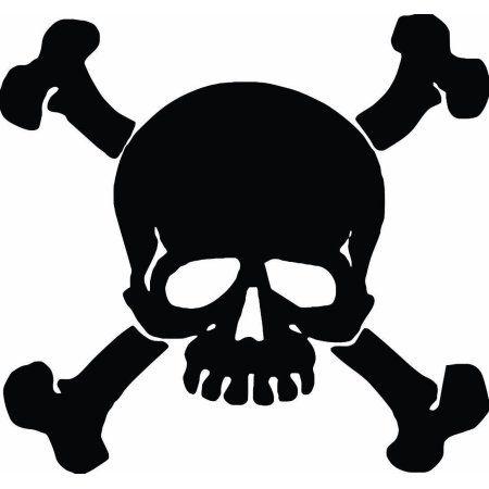 Wall Tattoo Skull Pirate Set Boy Stickers Captain Heads 10180 Skull