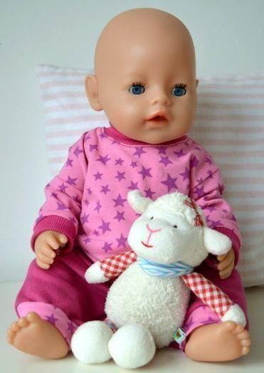 38 bezaubernde Modelle für die Puppe - Schnittmuster und ...