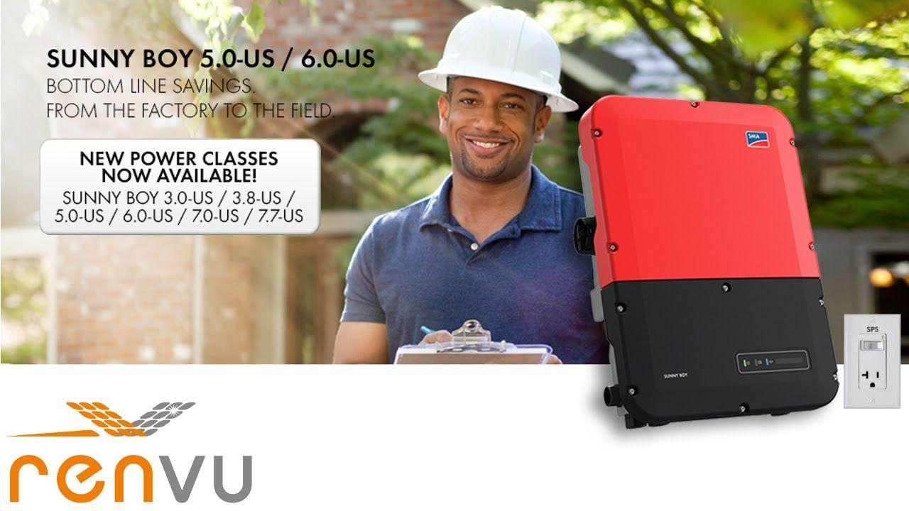 How To Install The New Sma Sunny Boy Sb 3 0 3 8 5 0 6 0 7 0 7 7 Us 1sp Boys Solar Equipment Installation