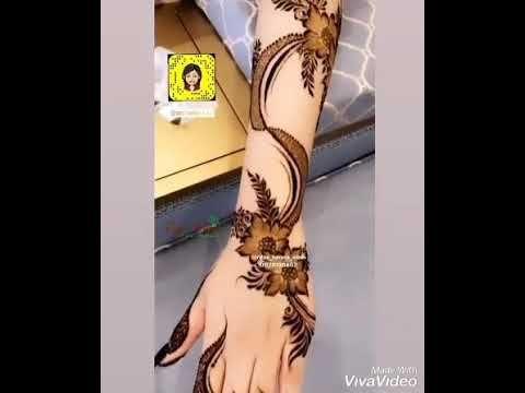 جديد لمحبي نقش الحناء الخليجي Youtube Henna Youtube