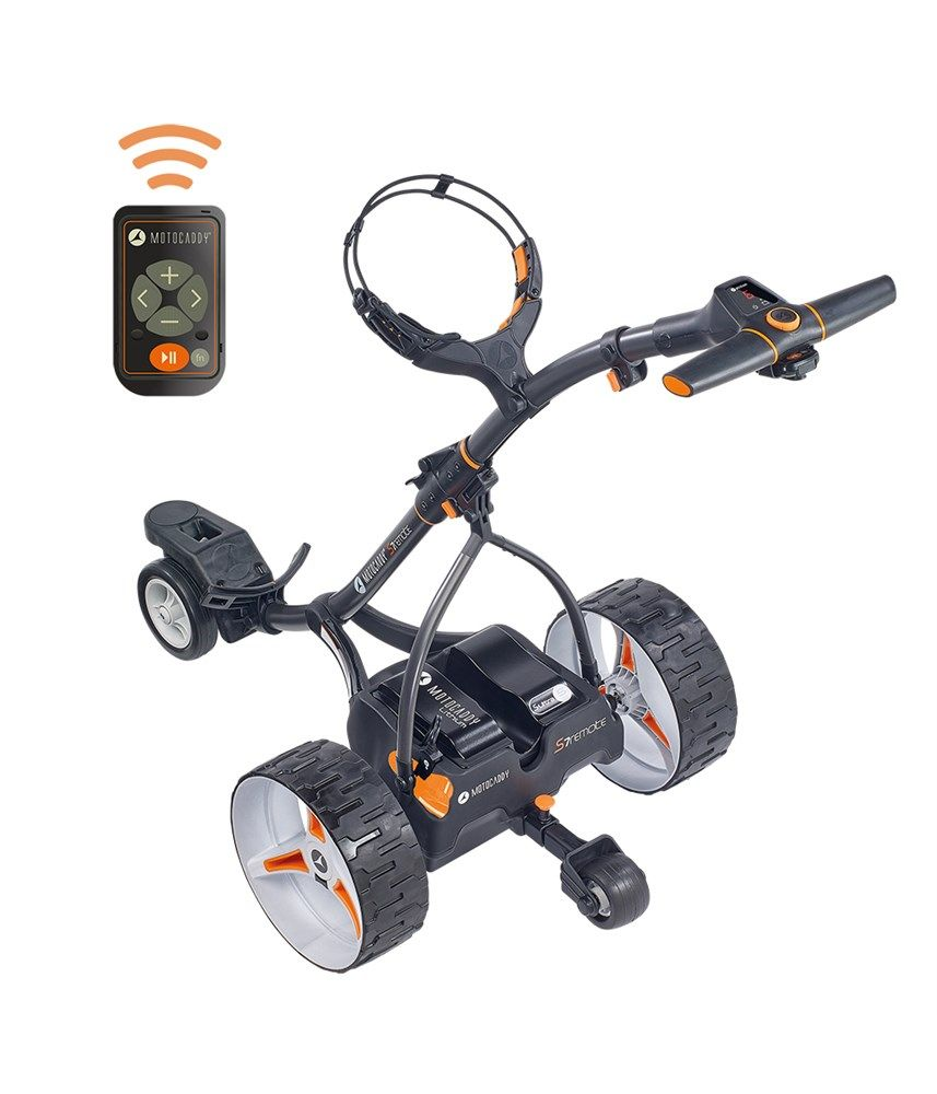 Motocaddy S7 Remote Electric Trolley with Lithium Battery 2018