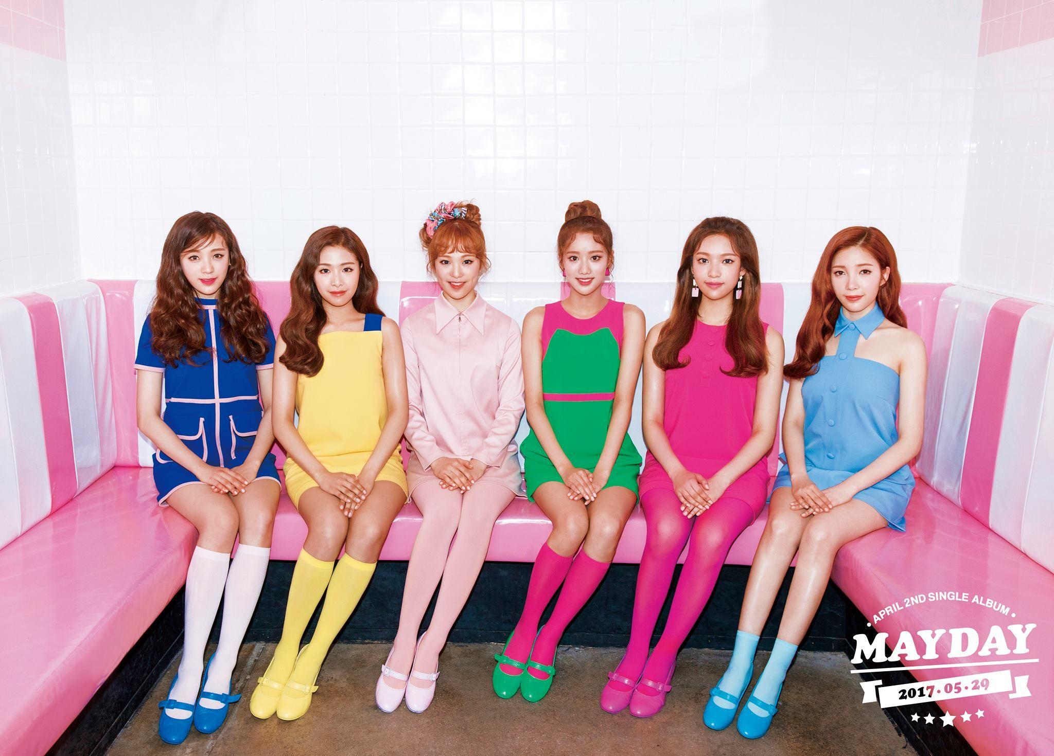 April Mayday April Mayday Comeback April 2017 Comeback April Mayday Teaser Image April Kpop Profile April New Members Kpop K Idols