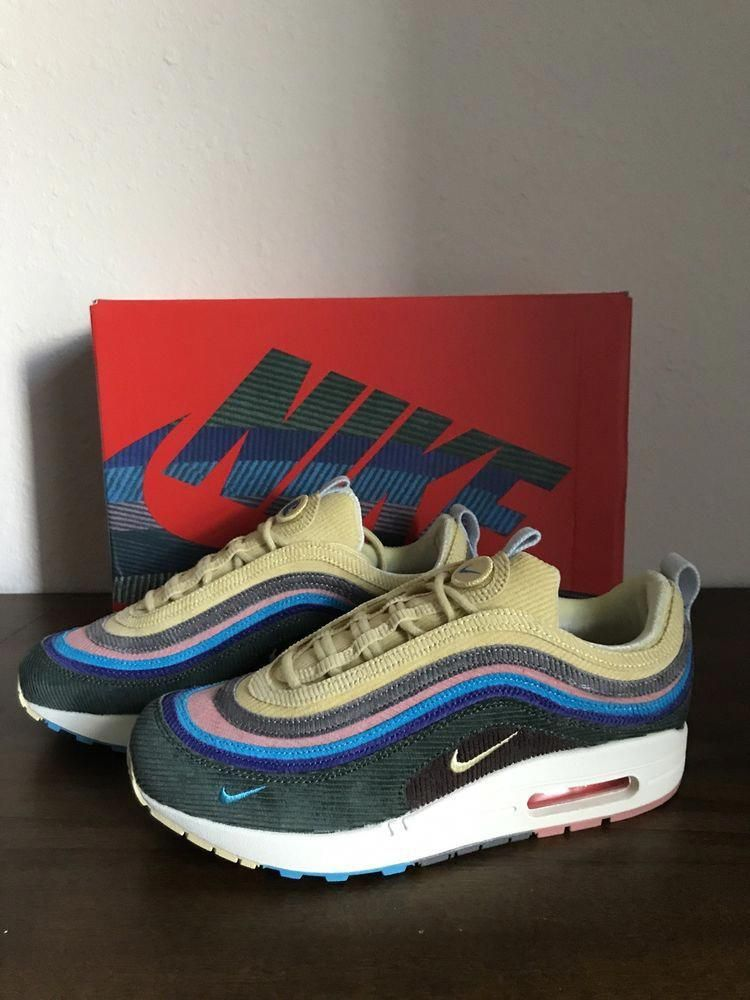 963447e7d8 ... free shipping nike air max 1 97 sean wotherspoon size 7 us aj4219 400  fashion clothing