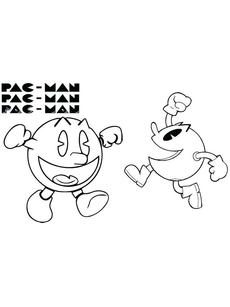 Pacman Coloring Pages 022 The Following Is Our Collection Of Easy Pacman Coloring Page You Are Free Cool Coloring Pages Coloring Pages Online Coloring Pages