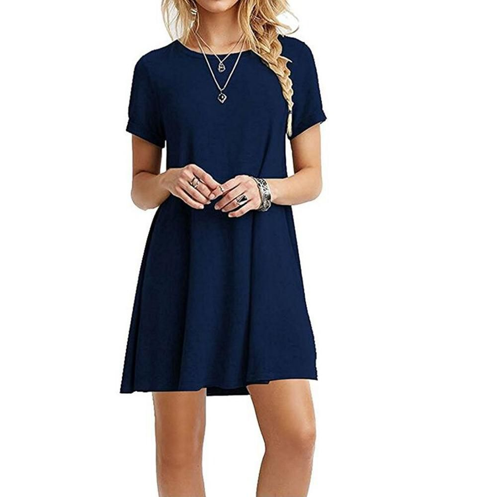 Simple short casual dress shopabide casual dresses pinterest