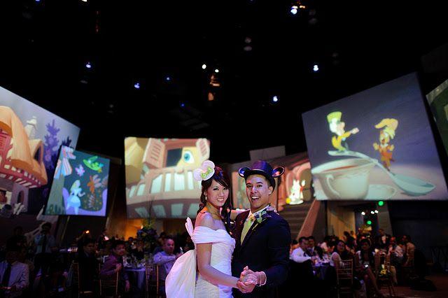 Wow! Disney wedding in California Adventure leaves me speechless.