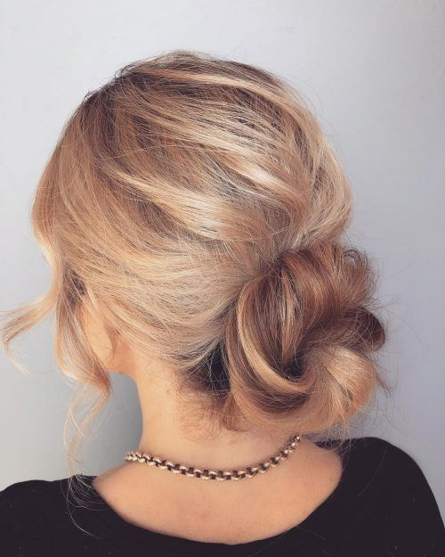 21 super easy updos for beginners to try in 2020  easy