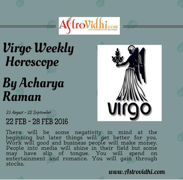 virgo weekly horoscope shine
