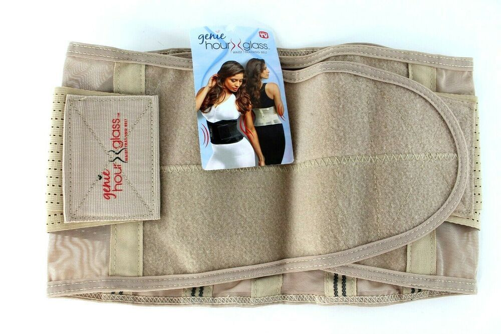 Details about genie hourglass belt waist trainer shapewear