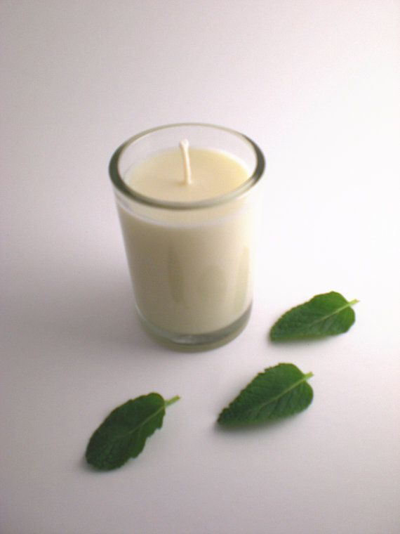 Mojito  - Pure essential oil kosher soy wax candle by aromacandles, $14.00 #natural