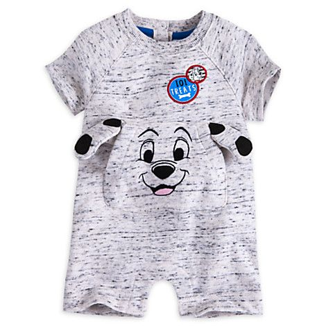 101 Dalmatians Romper For Baby Disney Store Disney Baby Clothes Kids Outfits Baby Disney