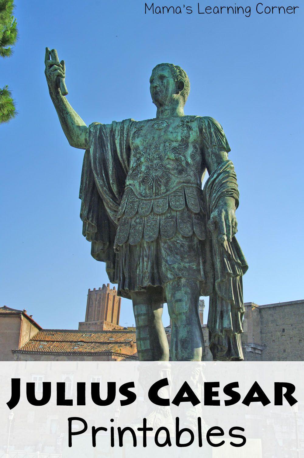 Free Printables For Julius Caesar Unit Study Study Unit Julius