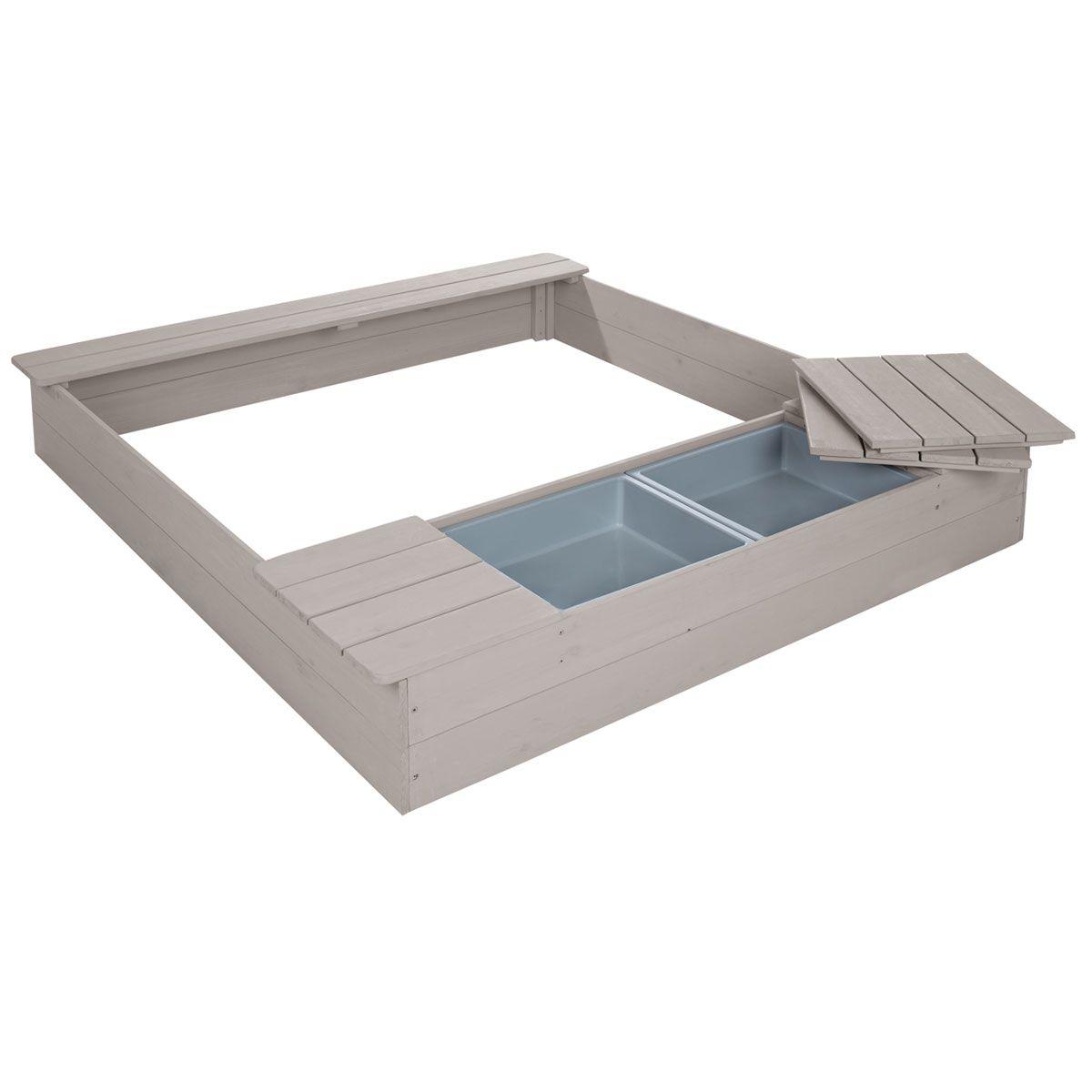 Roba Sandkasten Mit Spielwannen Sandkasten Holz Sandkasten Spielzeug Draussen