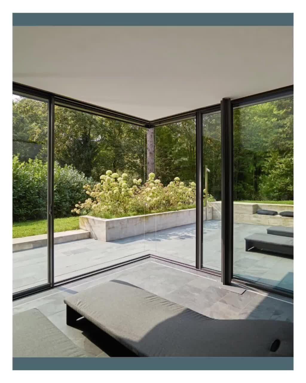 Moveable Corner 1000 In 2020 Aluminium Sliding Doors Sliding Doors Architecture