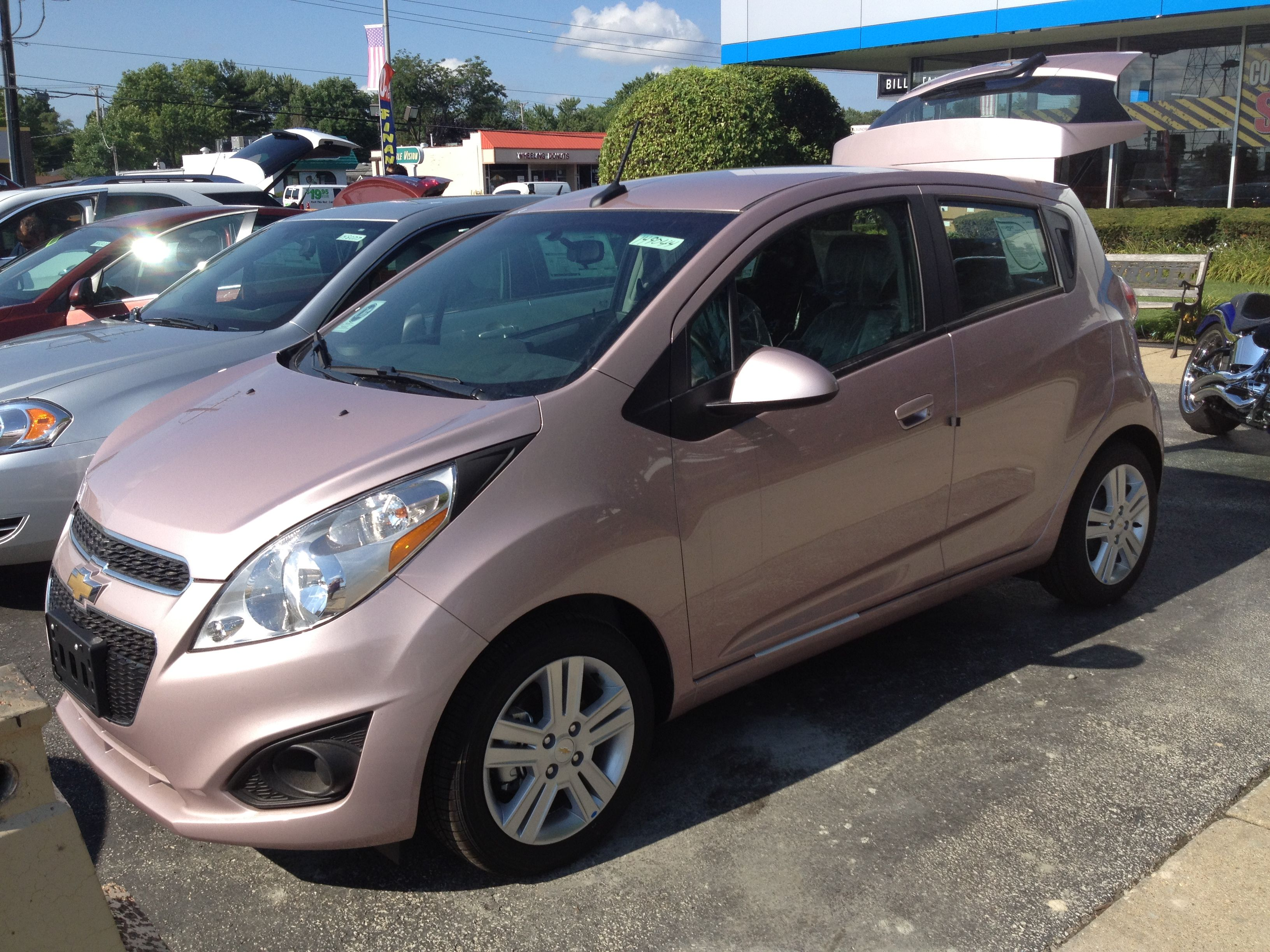 New techno pink chevy spark new dream car