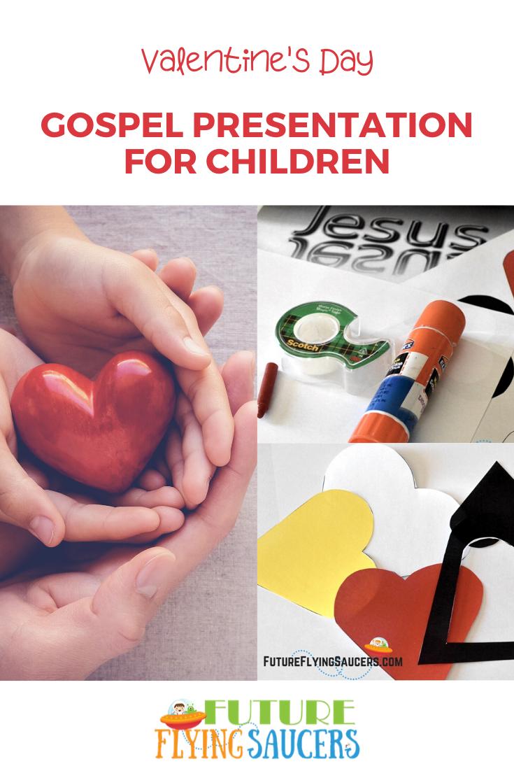 Valentines Day Gospel Presentation for Children K through 6th Grade