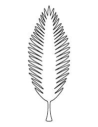 Resultado de imagen para hawaiian leaf template