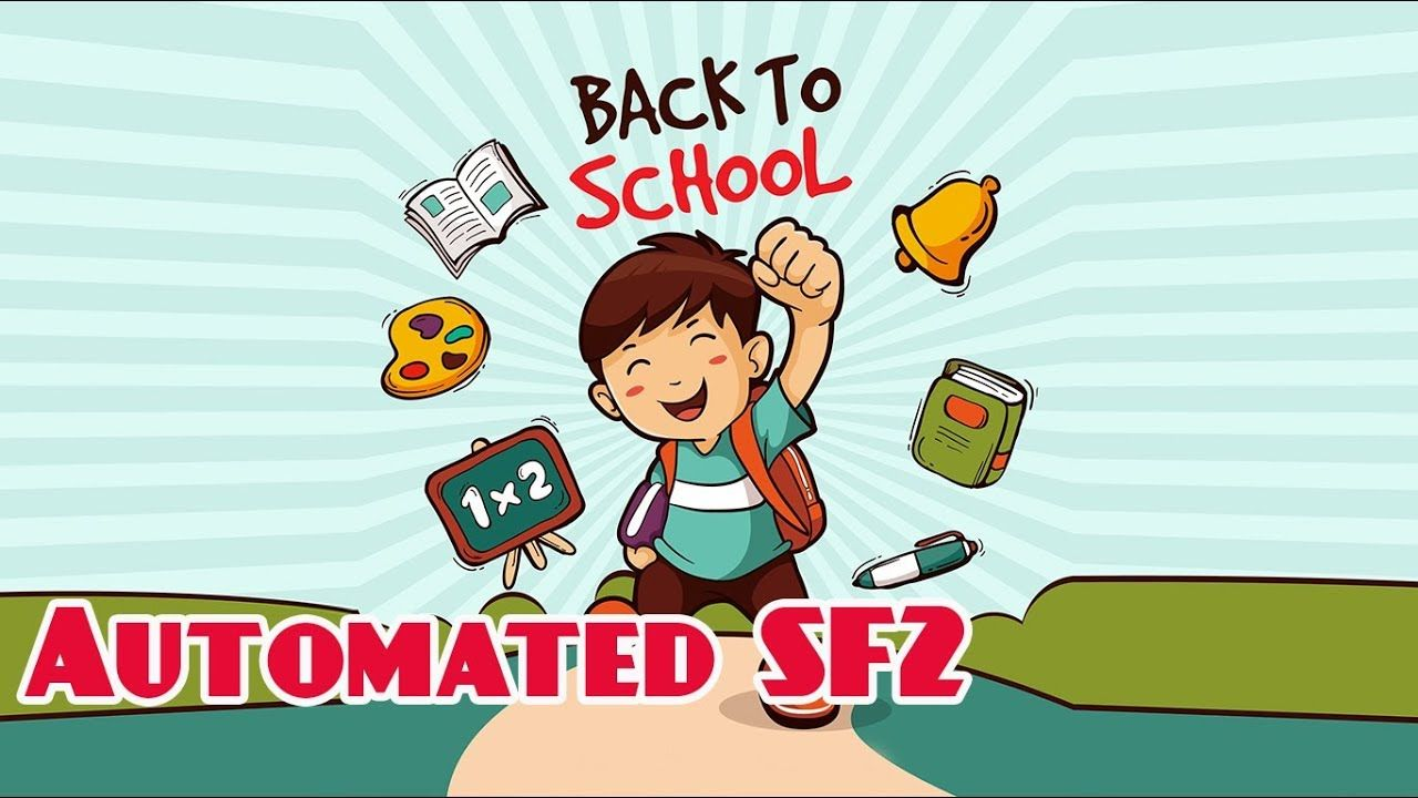 Automated SF2 2019-2020 ( DepED School Form 2 ) | English