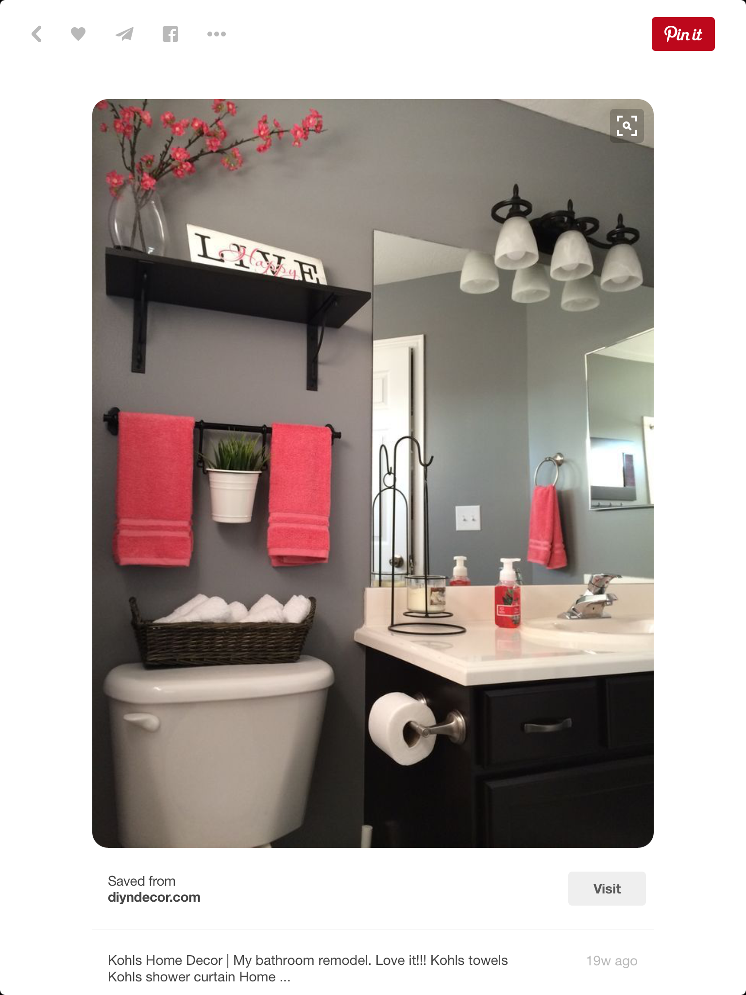 bathroom decor tips on a budget love this color combo