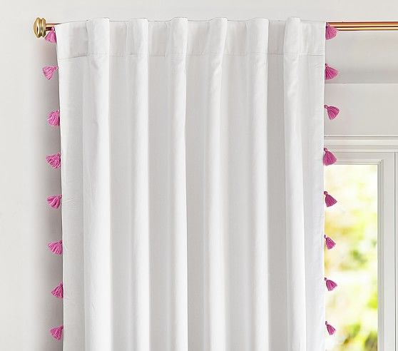 Bella Tassel Blackout Curtain Blackout Panels Blackout