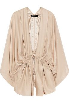 Elizabeth and James Silk-charmeuse kimono-style blouse | NET-A-PORTER