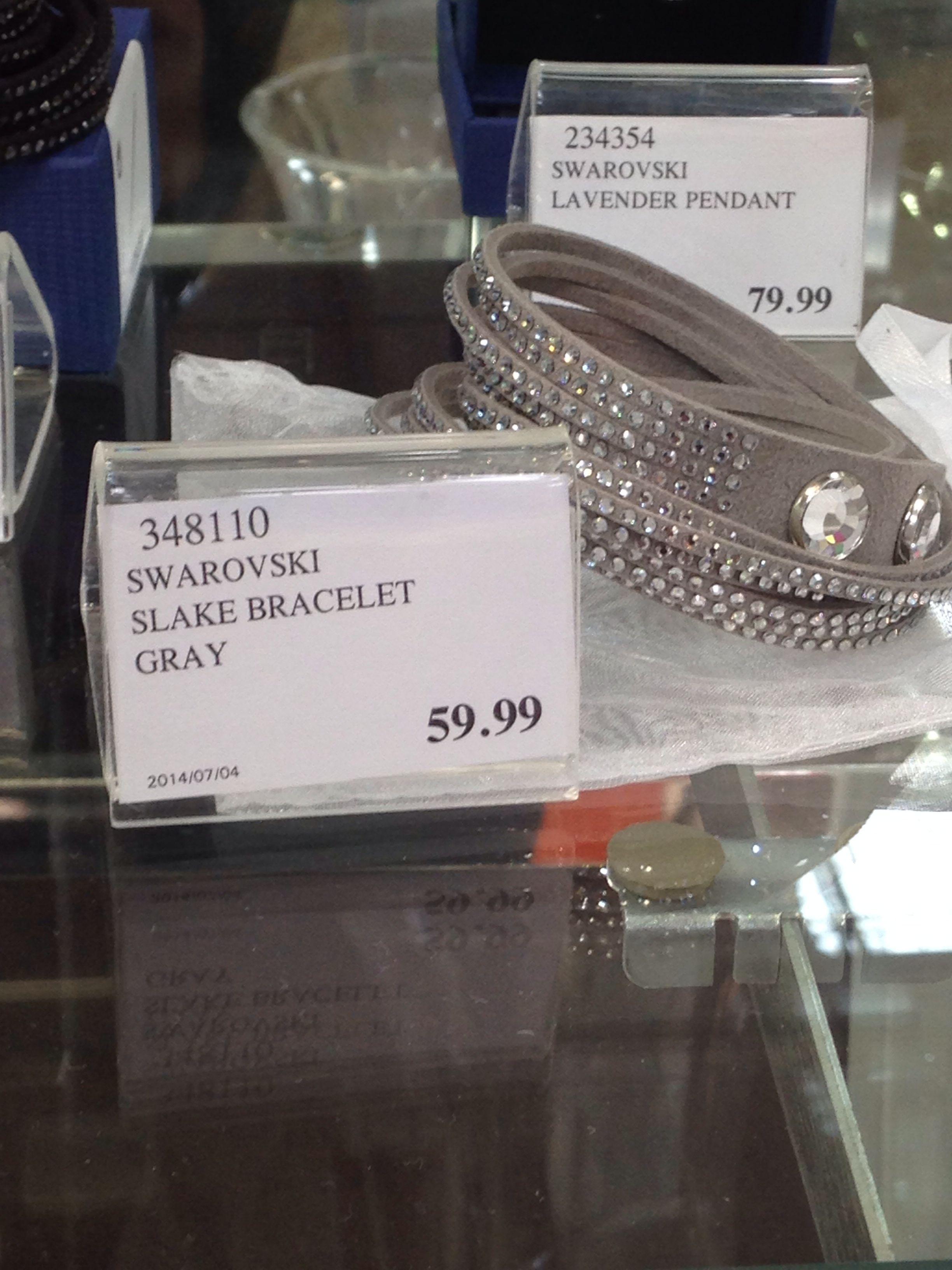 Swarovski Slake Bracelet In Gray From Costco