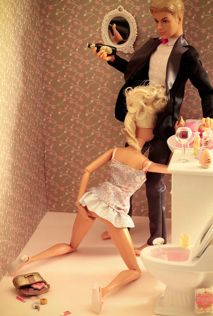 doll blowjob Barbie