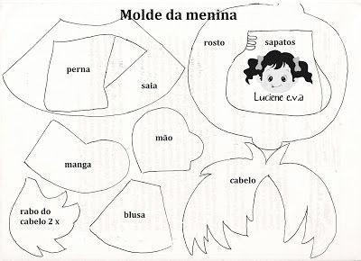 Luciene e.v.a: Calendário com molde