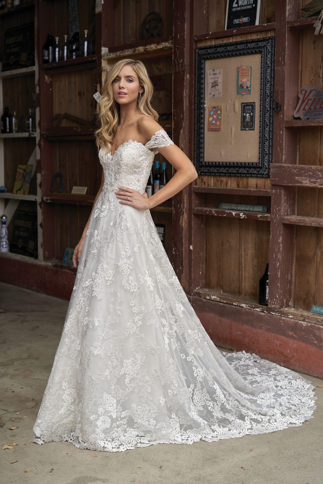 Exclusive wedding dress rom Jacqueline's Bridal near