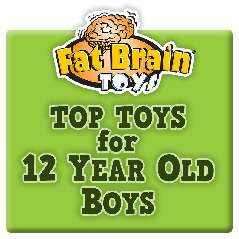 Toys For 12 : Fat brain toys has assembled an exclusive list of