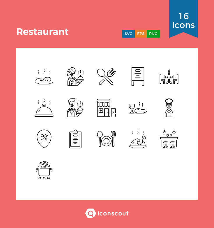 Download Restaurant Icon Pack Available In Svg Png Eps Ai Icon Fonts Restaurant Icon Icon Icon Pack