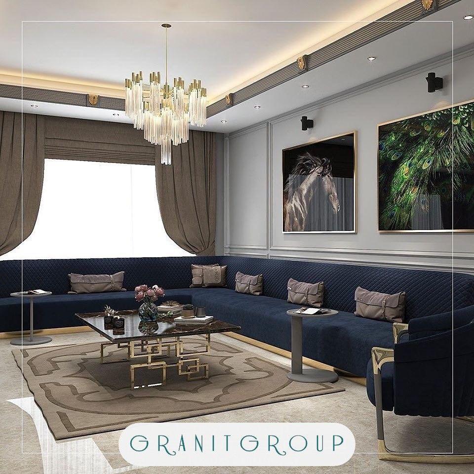 اثاث ديكور صالة جلوس فاخرة في إسطنبول Home Decor Furniture Home