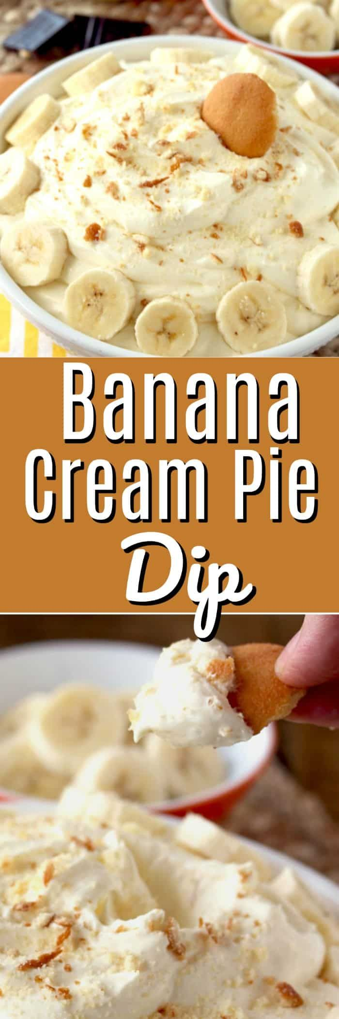 Banana Cream Pie Dip #sugarcreampie