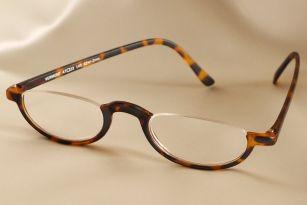 Eyeglass Repair Half Frame : Half Eye Reading Glasses in Plastic Frame I like these ...