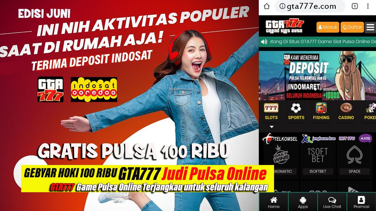 Pin Di Gta777 Game Slot Pulsa Online