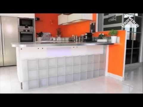 Kit de pose Posalight pour briques de verre - YouTube | cuisine ...