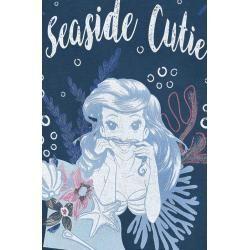 Photo of Arielle, die Meerjungfrau Seaside Cutie Damen-Übergangsjacke – navy schwarz – Offizieller & Lizenzie
