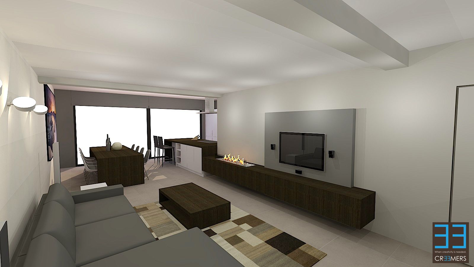 Renovation and interior concept for client SS. Renovatie en ...